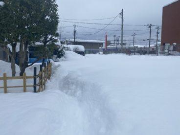 除雪作業 2021/01/13