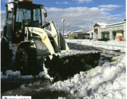 富山市の除雪