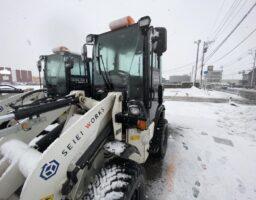 除雪作業②   2021/02/17
